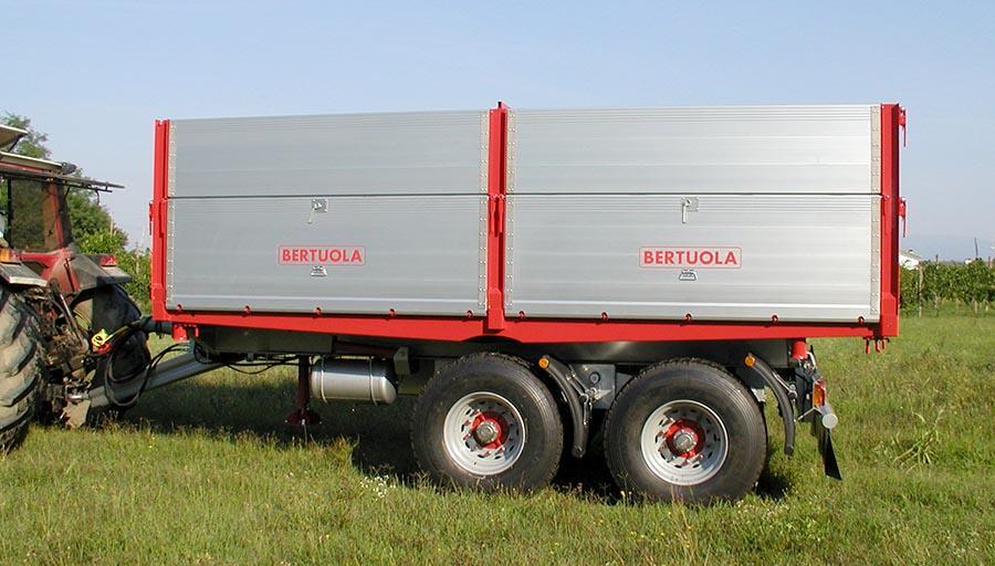 Bertuola snc veicoli agricoli ed industriali dumper for Bertuola rimorchi