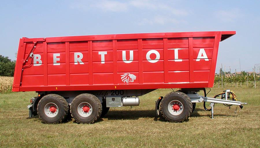 bertuola snc veicoli agricoli ed industriali novit