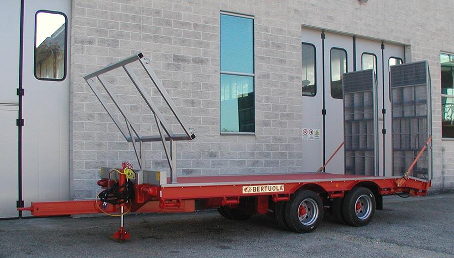 Bertuola snc veicoli agricoli ed industriali pianali for Bertuola rimorchi