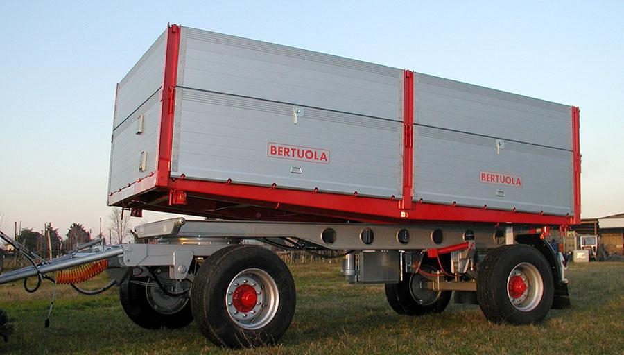 Bertuola snc veicoli agricoli ed industriali rimorchi for Capriotti rimorchi agricoli